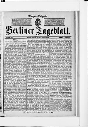 Berliner Tageblatt und Handels-Zeitung vom 20.01.1899