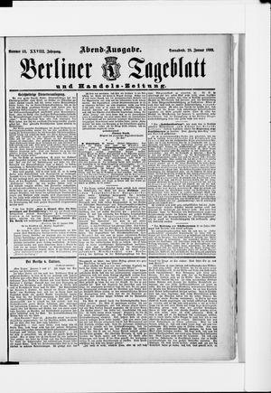 Berliner Tageblatt und Handels-Zeitung vom 28.01.1899