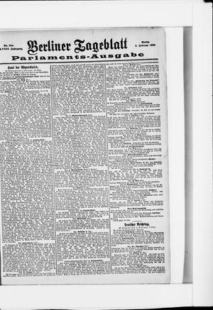 Berliner Tageblatt und Handels-Zeitung vom 02.02.1899