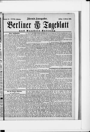 Berliner Tageblatt und Handels-Zeitung vom 03.02.1899