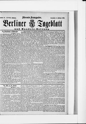 Berliner Tageblatt und Handels-Zeitung vom 11.02.1899
