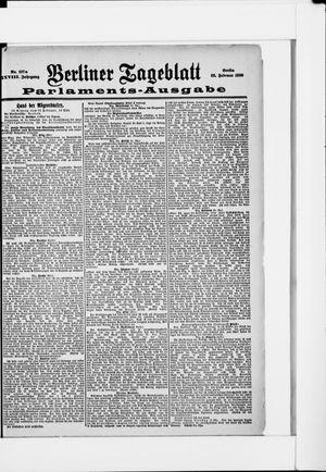 Berliner Tageblatt und Handels-Zeitung vom 28.02.1899
