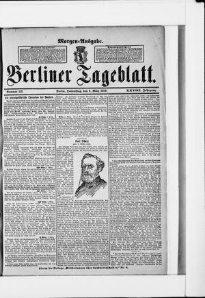 Berliner Tageblatt und Handels-Zeitung vom 02.03.1899