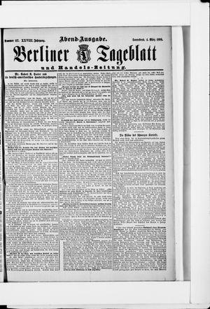 Berliner Tageblatt und Handels-Zeitung vom 04.03.1899