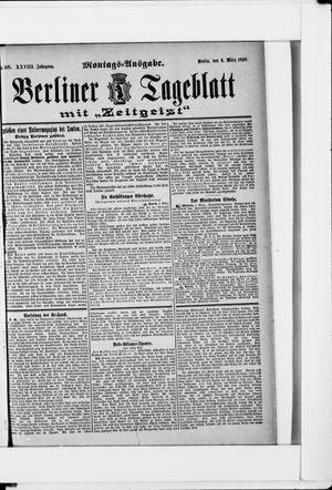 Berliner Tageblatt und Handels-Zeitung on Mar 6, 1899