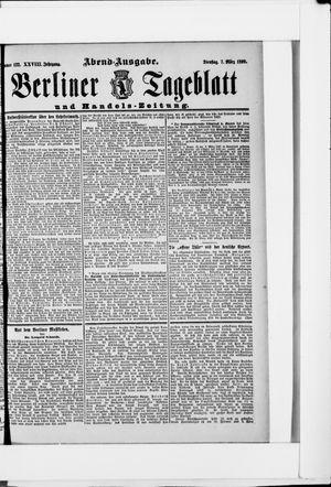 Berliner Tageblatt und Handels-Zeitung vom 07.03.1899