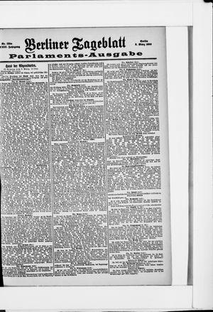 Berliner Tageblatt und Handels-Zeitung vom 08.03.1899