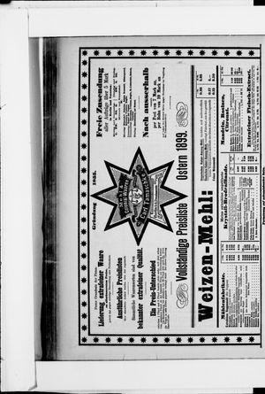 Berliner Tageblatt und Handels-Zeitung vom 11.03.1899