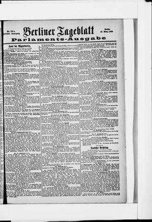 Berliner Tageblatt und Handels-Zeitung vom 12.03.1899