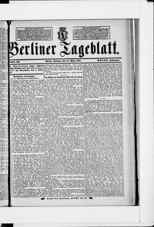 Berliner Tageblatt und Handels-Zeitung vom 31.03.1899