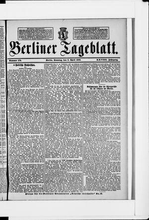 Berliner Tageblatt und Handels-Zeitung vom 09.04.1899