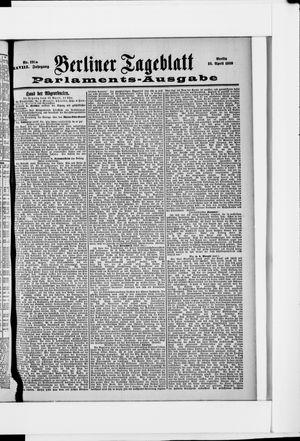 Berliner Tageblatt und Handels-Zeitung vom 16.04.1899