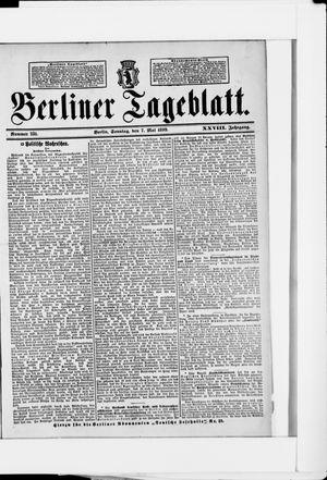 Berliner Tageblatt und Handels-Zeitung vom 07.05.1899