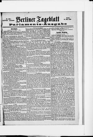 Berliner Tageblatt und Handels-Zeitung vom 10.05.1899