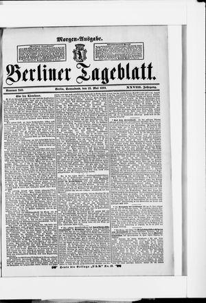 Berliner Tageblatt und Handels-Zeitung vom 13.05.1899