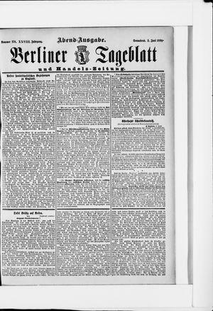 Berliner Tageblatt und Handels-Zeitung vom 03.06.1899
