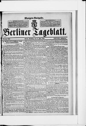 Berliner Tageblatt und Handels-Zeitung vom 06.06.1899