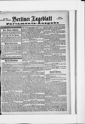 Berliner Tageblatt und Handels-Zeitung vom 07.06.1899