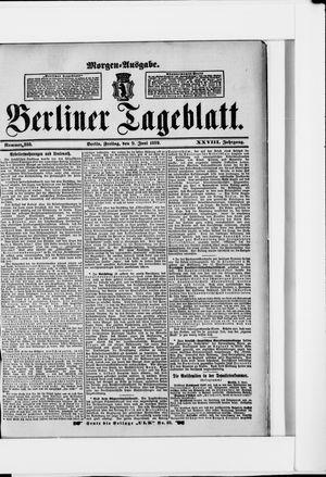 Berliner Tageblatt und Handels-Zeitung vom 09.06.1899