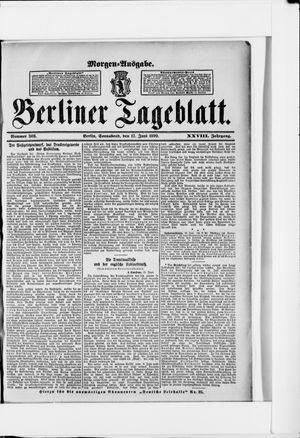 Berliner Tageblatt und Handels-Zeitung vom 17.06.1899