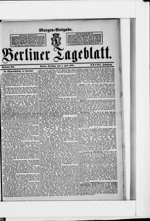 Berliner Tageblatt und Handels-Zeitung vom 04.07.1899