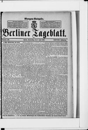 Berliner Tageblatt und Handels-Zeitung vom 06.07.1899