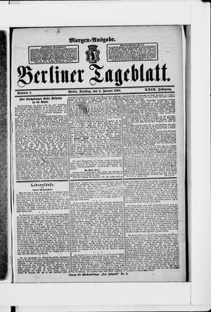 Berliner Tageblatt und Handels-Zeitung vom 02.01.1900