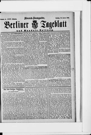 Berliner Tageblatt und Handels-Zeitung vom 23.01.1900