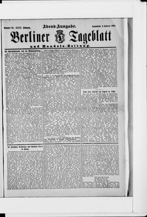 Berliner Tageblatt und Handels-Zeitung on Feb 3, 1900