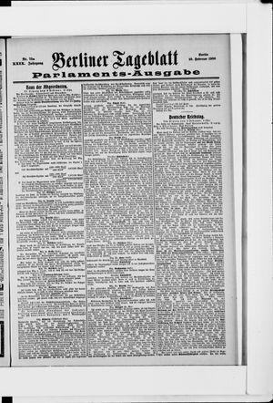 Berliner Tageblatt und Handels-Zeitung vom 10.02.1900