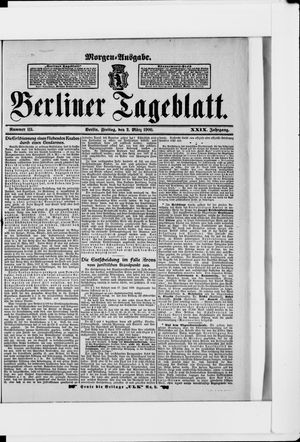 Berliner Tageblatt und Handels-Zeitung vom 02.03.1900