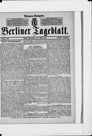 Berliner Tageblatt und Handels-Zeitung vom 03.03.1900