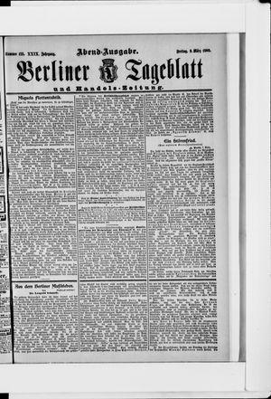 Berliner Tageblatt und Handels-Zeitung vom 09.03.1900