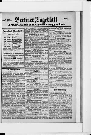 Berliner Tageblatt und Handels-Zeitung vom 12.03.1900