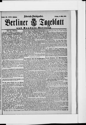 Berliner Tageblatt und Handels-Zeitung vom 13.03.1900