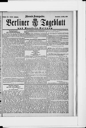 Berliner Tageblatt und Handels-Zeitung vom 17.03.1900
