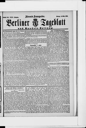 Berliner Tageblatt und Handels-Zeitung vom 19.03.1900
