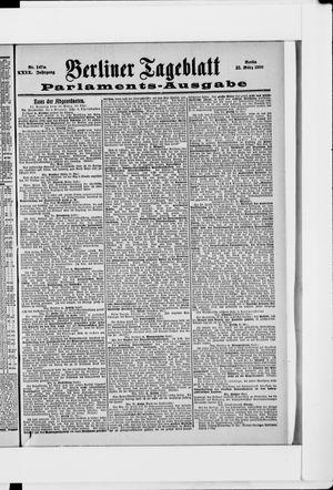 Berliner Tageblatt und Handels-Zeitung vom 21.03.1900