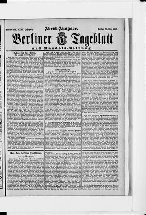 Berliner Tageblatt und Handels-Zeitung vom 23.03.1900