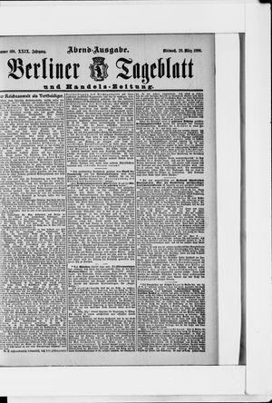 Berliner Tageblatt und Handels-Zeitung vom 28.03.1900