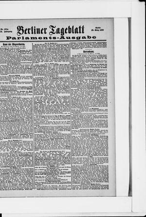 Berliner Tageblatt und Handels-Zeitung vom 29.03.1900