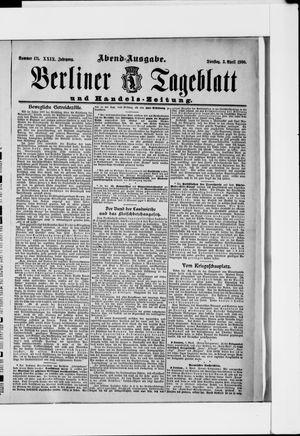 Berliner Tageblatt und Handels-Zeitung vom 03.04.1900