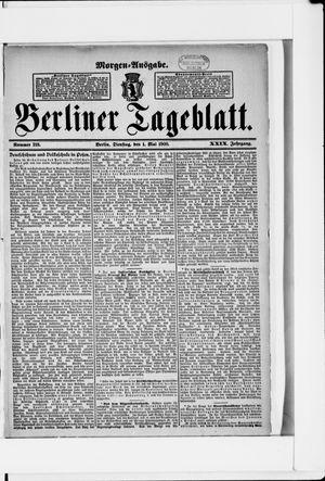 Berliner Tageblatt und Handels-Zeitung vom 01.05.1900