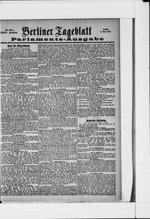 Berliner Tageblatt und Handels-Zeitung vom 04.05.1900