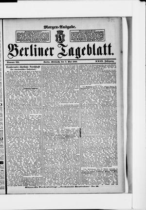Berliner Tageblatt und Handels-Zeitung vom 09.05.1900