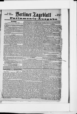 Berliner Tageblatt und Handels-Zeitung vom 12.05.1900