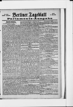 Berliner Tageblatt und Handels-Zeitung vom 13.05.1900