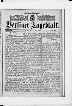Berliner Tageblatt und Handels-Zeitung vom 02.06.1900