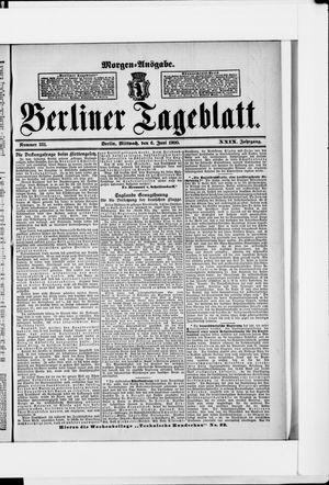Berliner Tageblatt und Handels-Zeitung vom 06.06.1900