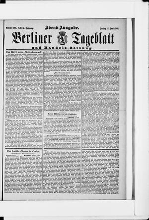 Berliner Tageblatt und Handels-Zeitung vom 08.06.1900